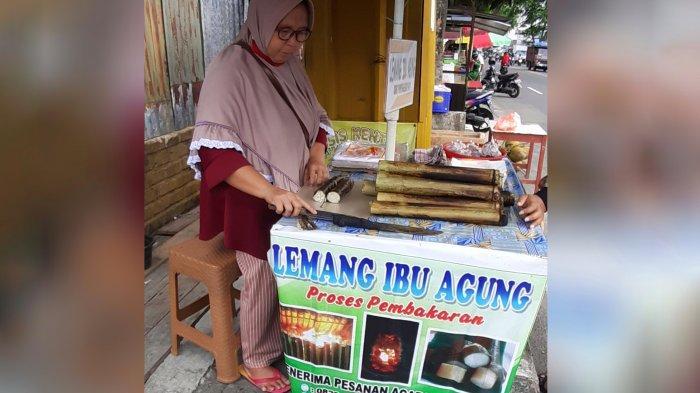 Berkah di Bulan Ramadhan, Lemang Ibu Agung Laris Manis, Hari Pertama Terjual 100 Batang