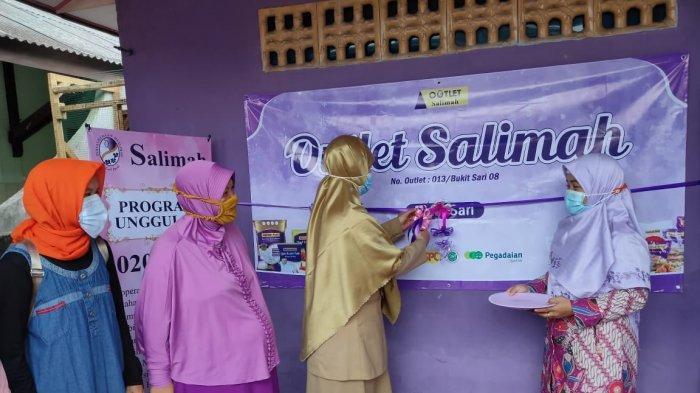 Gandeng Pelaku UMKM, PW Salimah Bangka Belitung Buka Outlet Salimah Bukit Sari