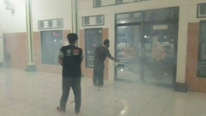 Relawan Simpul Babel Siap Layani Fogging Disinfektan Masjid-masjid di Kabupaten Bangka
