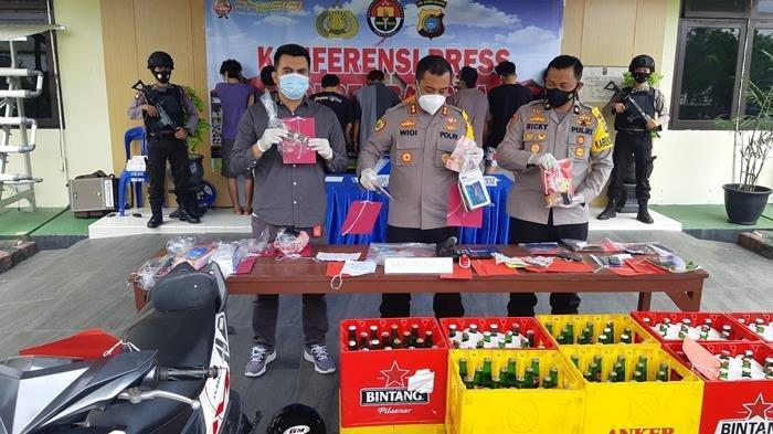 Operasi Pekat Menumbing 2021, Polres Bangka Ungkap 22 Kasus