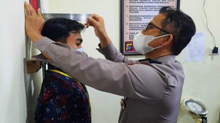 Dinda Berharap Jadi Anggota Polri, Sebanyak 438 Calon Siswa Polisi Ikut Seleksi Administrasi