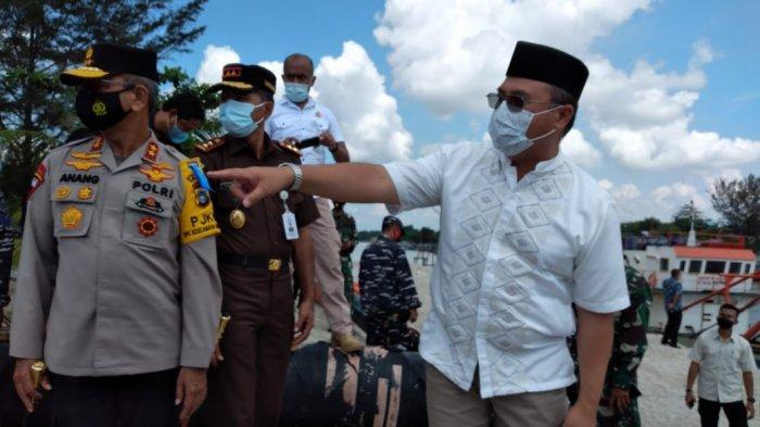 Gubernur dan Forkopimda Babel Sidak ke Muara Air Kantung, PT Pulomas Dinilai Melanggar Amdal