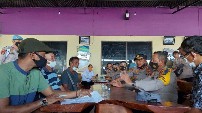 Kapolda Babel  dan PT Timah Ajak Perwakilan Nelayan Tanjung Ketapang Audiensi Masalah Tambang Laut