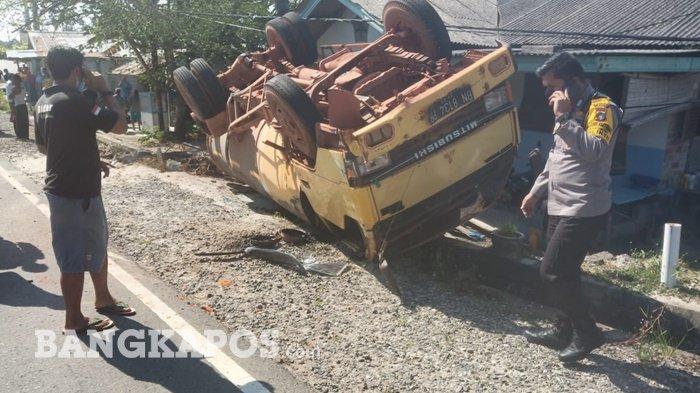 Tabrakan Maut, Truk Tangki CPO Sawit Hantam Pengendara Motor, Korban Tewas Terlindas