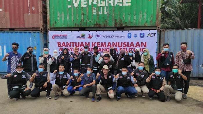 MRI Bangka Belitung, Komunitas Wadah Pemuda Membina Karakter Kerelawanan