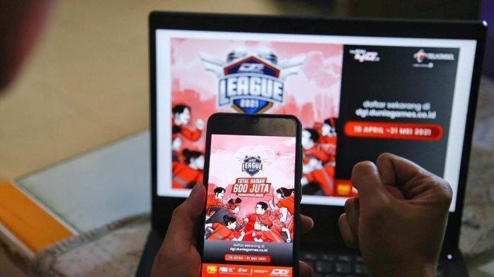 Daftar Segera, Dunia Games League 2021, Event Games Terbesar, Dukung Talenta Esports
