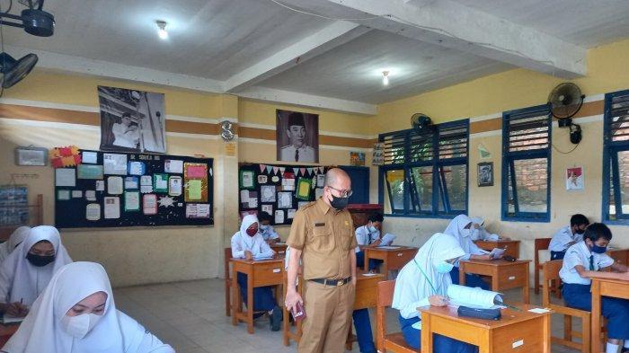 26 SMP Negeri dan Swasta Gelar Ujian Akhir Secara Tatap Muka, Diikuti 3900 Peserta Didik