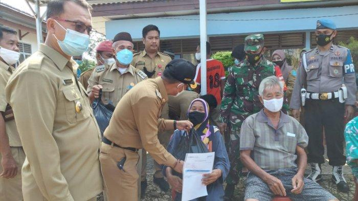 Bupati dan Wabup Bangka Kampanyekan Vaksinasi Covid-19 di Mendobarat