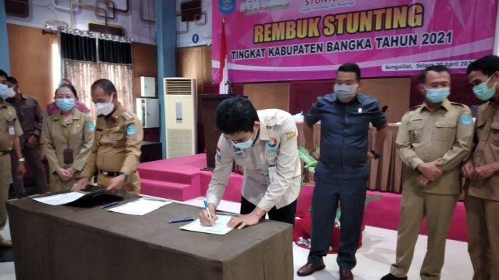 Angka Stunting Kabupaten Bangka Turun 1,96 Persen, 2023 Targetkan Zero Stunting