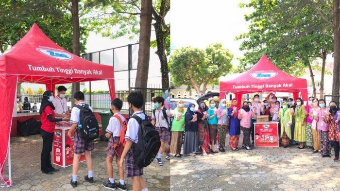 Zee Nutrifest 2021 Hadir Kembali di Sekolah Dasar Pangkalpinang, Bagikan 600 Pcs Susu Zee