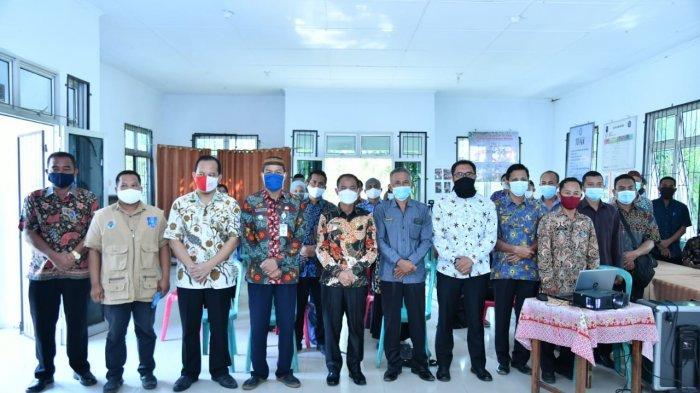 Pertahankan Status WTP, Bupati Bangka Pantau Pelaksanaan ADD di Kecamatan Puding Besar