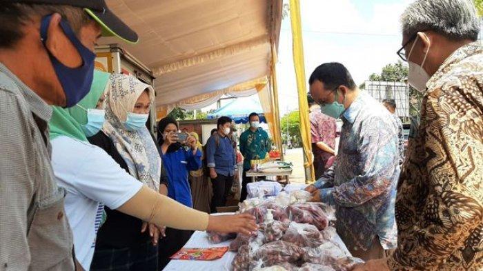 Antusias Masyarakat Tinggi, Algafry Minta Disperindag Provinsi Operasi Pasar Lagi di Lubuk Besar
