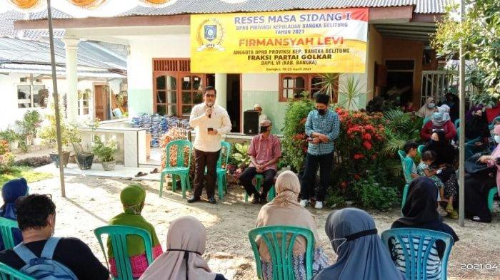 Jaring Aspirasi Masyarakat, Politisi Partai Golkar Ini Akhiri Masa Reses Kunjungi Warga Srimenanti