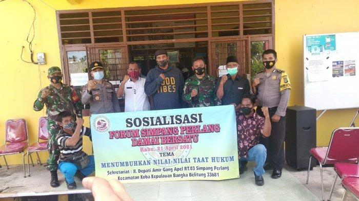 Forum Simpang Perlang Damai Bersatu, Tampung Aspirasi Masyarakat di Wilayah Koba
