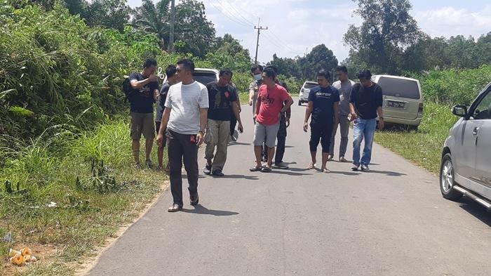 Sebelum Tewas, Bohel Pesta Miras dengan Rekannya di Jalan Raya Kota Kapur Mendobarat
