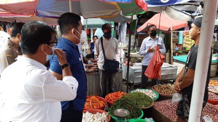 Tim Satgas Pangan dan Ombudsman Sidak di Pasar Pangkalpinang, Pantau Harga Jelang HBKN