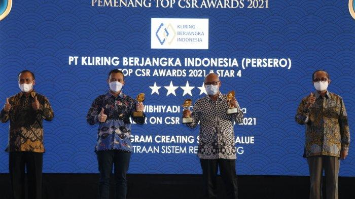 KBI Sabet Tiga Penghargaan di Ajang Top CSR Award 2021