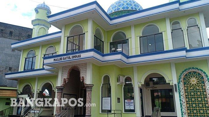 Menelisik Masjid Muhammadiyah Baitul Ummah, Masjid Strategis di Pusat Kota Sungailiat