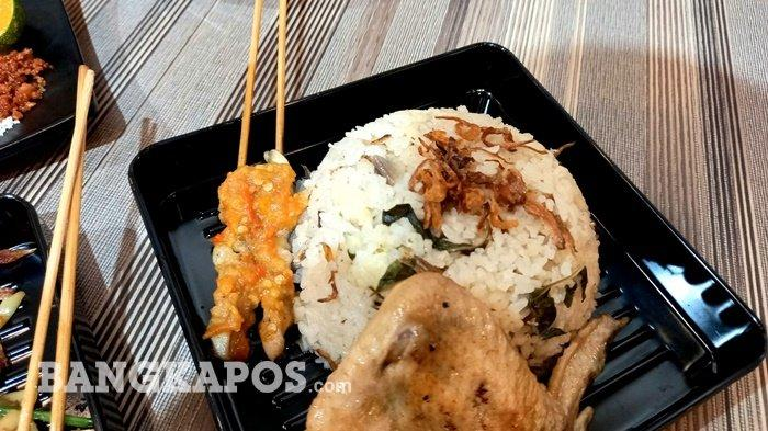 Menu Nasi Liwet di Taichan Bener Pangkalpinang