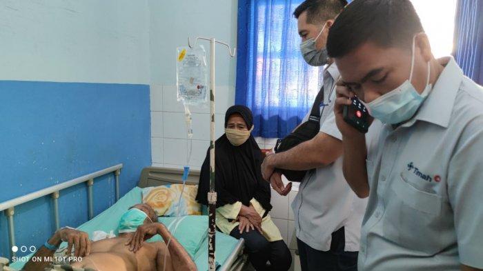 PT Timah Tbk Serahkan Bantuan Buat Nelayan yang Sakit, Zuraidah: Alhamdulillah, Terimakasih