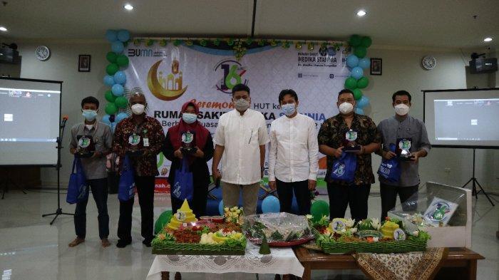 Peringatan HUT ke-16, RSMS Bersinergi Menuju Masyarakat Bangka Bebas Covid-19