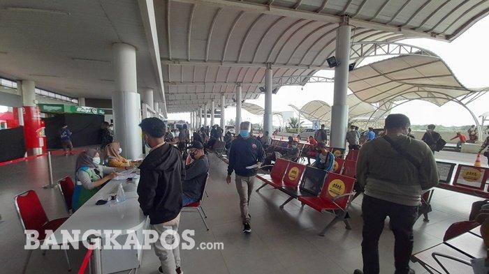 Jumlah Penumpang di Bandara Depati Amir Meningkat, Belum Bisa Prediksi Kapan Puncaknya