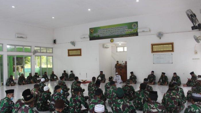 Korem 045/Gaya Gelar Doa Bersama untuk Awak KRI Nanggala 402 dan Prajurit Gugur Saat Tugas di Papua