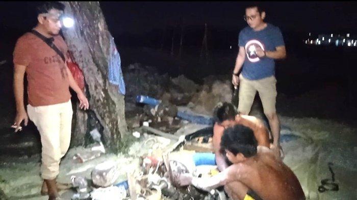 Empat Pekerja Tambang di Belakang Kantor BLK Bangka Belitung Diamankan, Sebagian Kabur - 20210430-tim-naga1.jpg