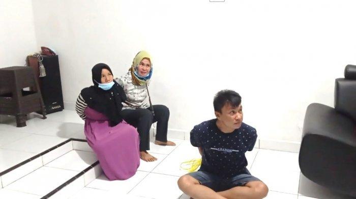 Tiga Pencuri di Minimarket AJ Mart Diringkus Tim Naga Polres Pangkalpinang, Pelaku dari Luar Pulau