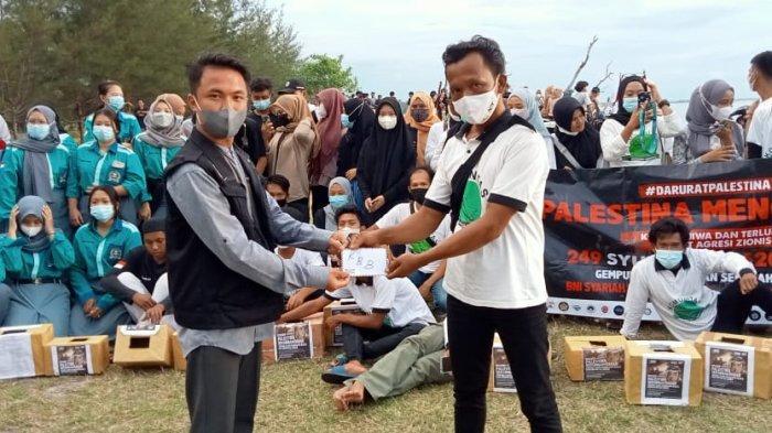 Masyarakat Belinyu Berhasil Kumpulkan Donasi Pengalangan Dana Bela Palestina Sebesar Rp 35 Juta