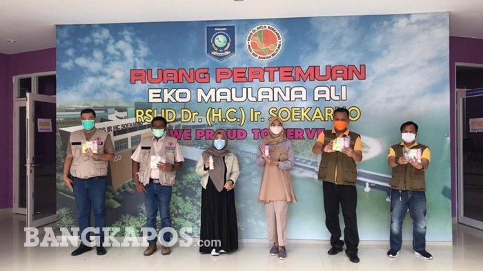 Tim Riset dan Kemanusian Indonesia Stop Covid Ajak Bangka Belitung Menuju Bebas Covid