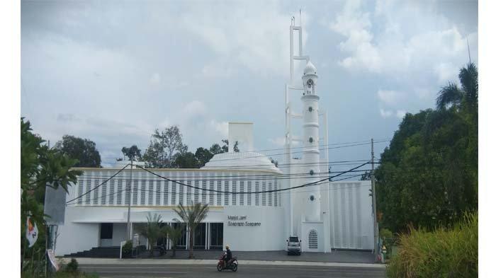 Masjid Soeprapto Soeparno, Masjid Pertama di Bangka Belitung yang Dikunjungi Jokowi