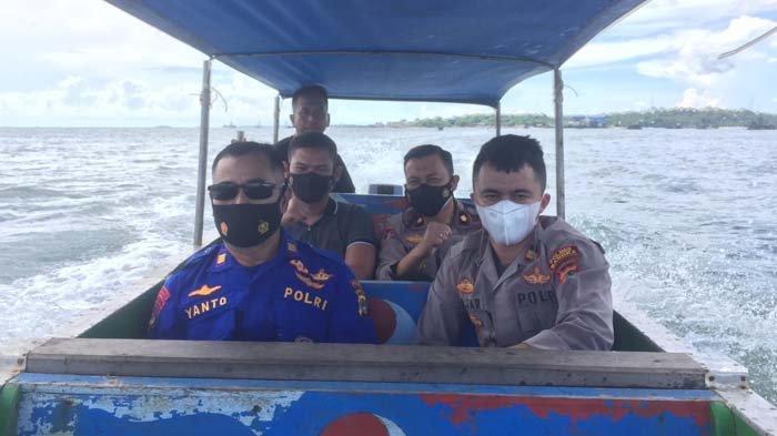 Polsek Belinyu dan Polsek Riausilip Patroli Di Teluk Kelabat