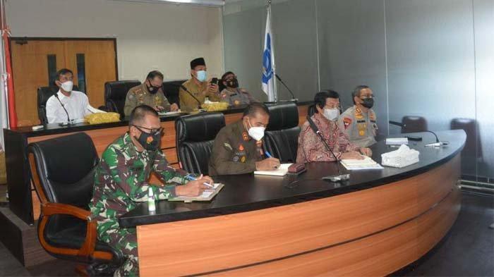 Danrem Sampaikan Peran TNI pada Rakor Bersama Gubernur, Bupati dan Walikota
