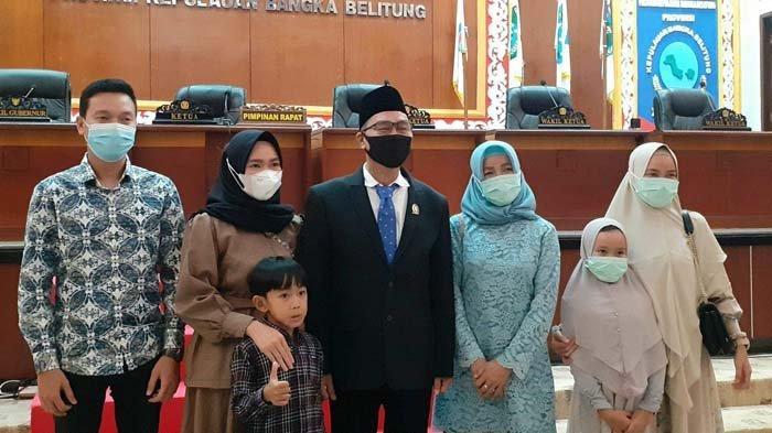 Anggota DPRD Bangka Belitung Pengganti Antarwaktu (PAW) sisa masa jabatan 2019-2024, Edy Junaidi Foe.