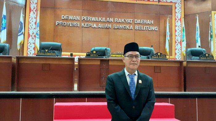 Resmi Jadi Anggota DPRD Babel, Edi Junaidi Fokus Sesuai Bidang di Komisi II