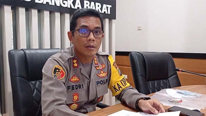 Operasi Ketupat Menumbing 2021 Polres Bangka Barat, Lima Pos Didirikan Halau Para Pemudik.