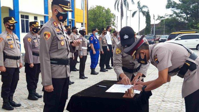 Kompol Teguh Duduki Jabatan Wakapolres Pangkalpinang