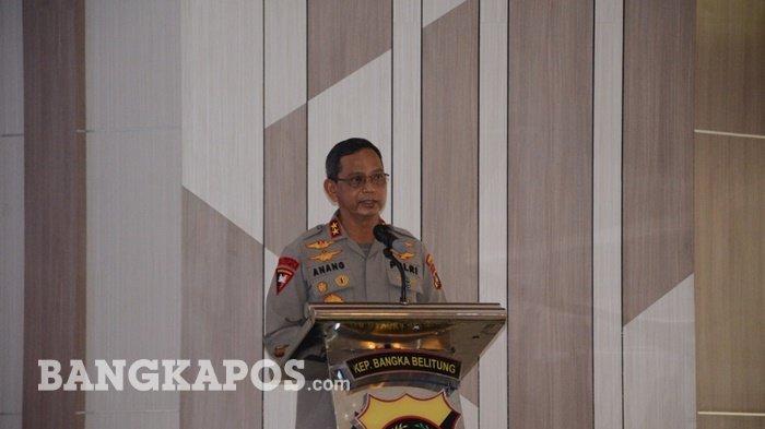 Kapolda Bangka Belitung Ungkapkan Dampak Pandemi Covid-19 Terhadap Kamtibmas