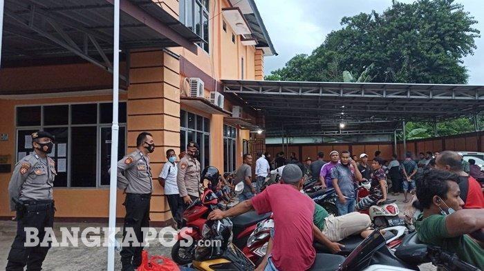 Kantor Lurah Tanjung Ketapang Didatangi Nelayan, 30 Personel Kepolisian Dikerahkan Jaga Keamanan