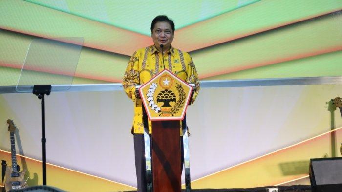 Airlangga Hartarto Kukuhkan Pengurus LKI DPP Partai Golkar Untuk Pemetaan Isu Nasional Hingga Daerah