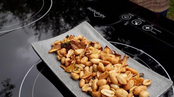 Yuk, Bikin Menu Lebaran Praktis, Kacang Goreng Bawang Gurih Bikin Nagih ala Chef Bima