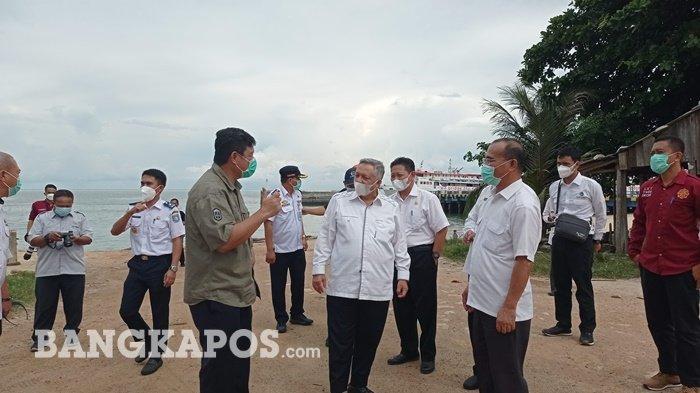 Tingkatkan Perekonomian Pemkab Bangka Barat Bakal Maksimal Pemanfaatan Pelabuhan