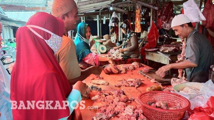 Harga Daging Sapi dan Ayam Potong Mulai Naik Jelang Lebaran, Pembeli Mengeluh Hingga Urung Membeli
