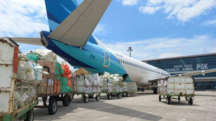 Mulai Berlaku Peniadaan Mudik, Garuda Indonesia Hari Ini Angkut Kargo 9 Ton dari Jakarta
