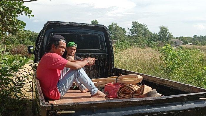 Dua Penambang Ditangkap di Tahura Menumbing Akui Hasilnya Dikirim ke Orang Tua di Kampung