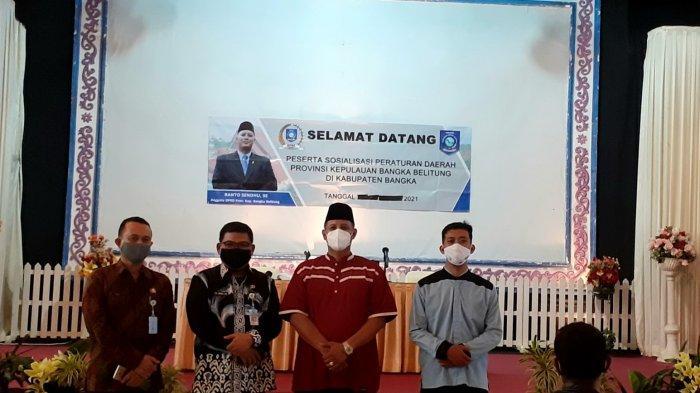 Cegah Penyalahgunaan Narkoba, DPRD Bangka Belitung Sosialisasikan Perda Nomor 5 Tahun 2015