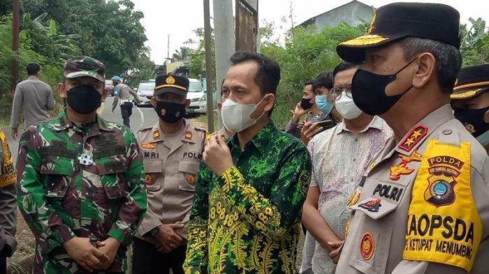 Kapolda Cek Pelaksanaan Isolasi Mandiri Posko Terpadu PPKM Kelurahan Bukit Merapen