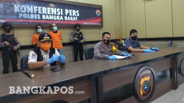 Dua Penambang Tahura Menumbing Terancam Hukuman 5 Tahun Penjara dan Denda Rp 100 Miliar