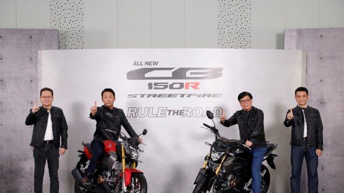 Motor Naked Sport All New CB150R Streetfire Tampil Semakin Gagah dengan Desain Big Bike
